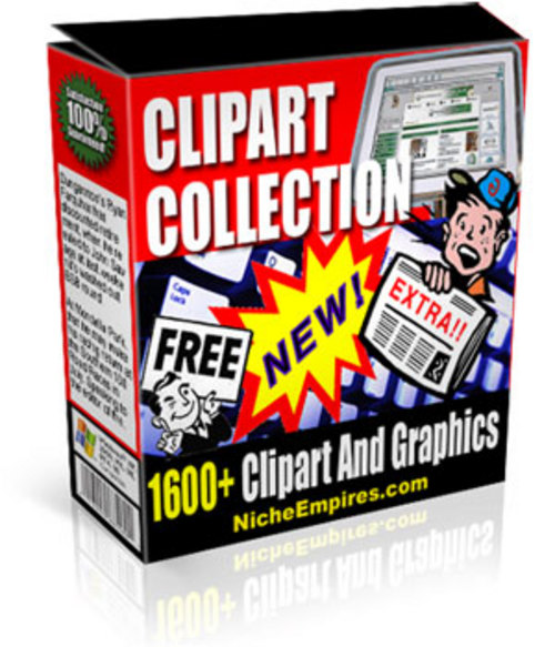 Product picture Over 1600 Clipart Images MMR